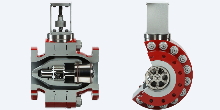 Axial Flow Regulator : Goodwin flow control isolation valves